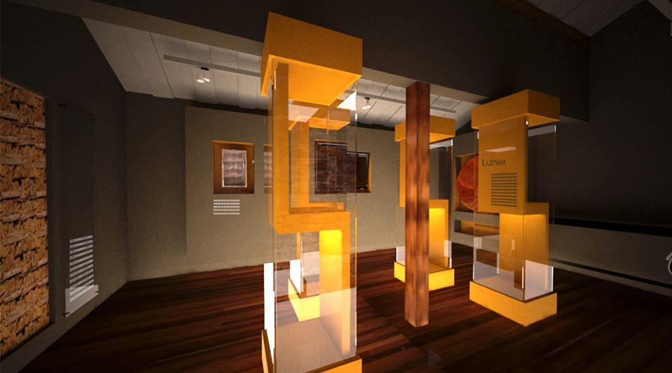 Projeto Expográfico do Museu Histórico de São Gonçalo do Rio Abaixo - MG