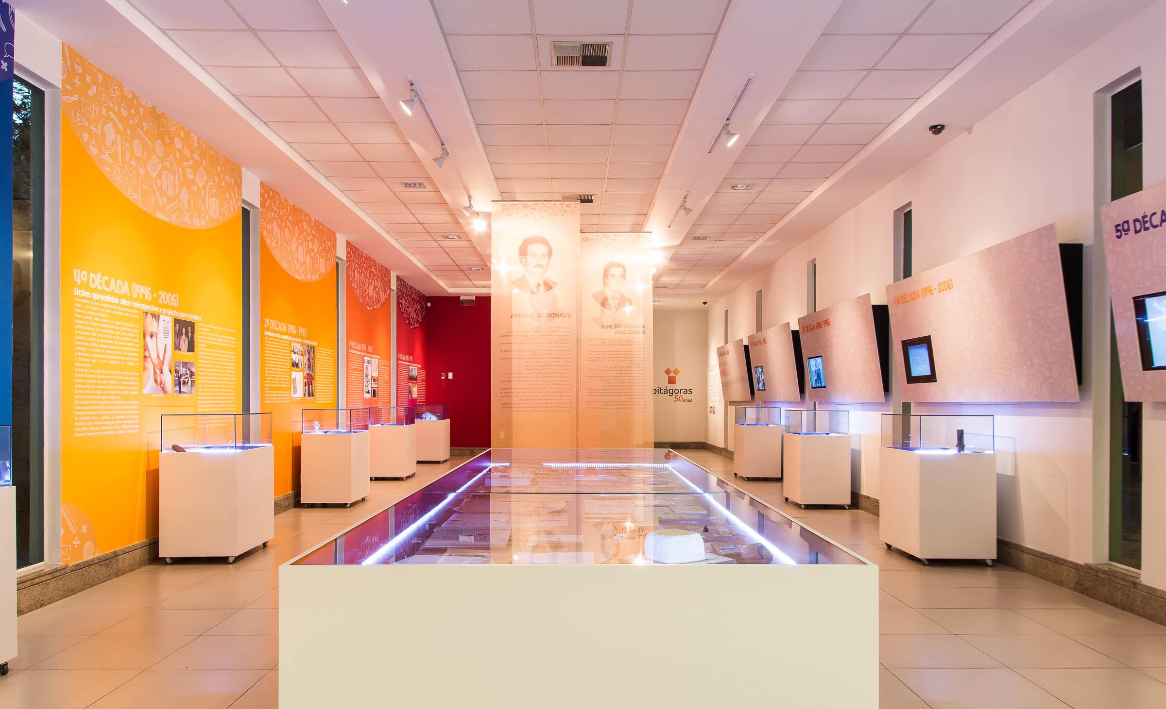 Projeto Expográfico do Centro de Memória Pitágoras - Belo Horizonte - MG