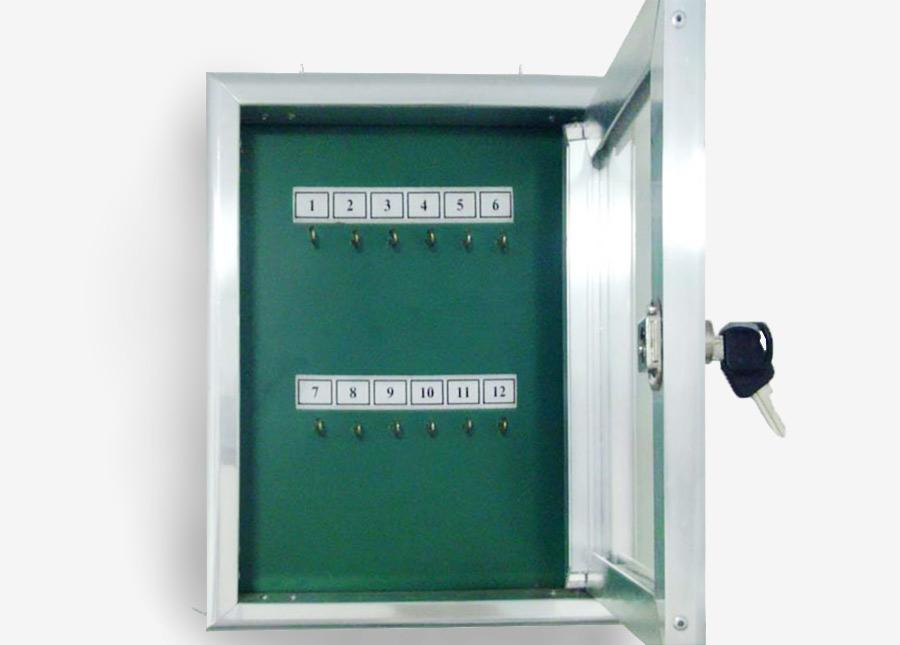 Quadro de chaves com 1 porta (verde)