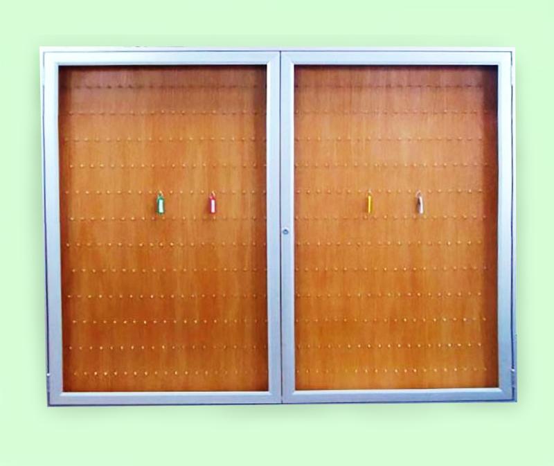 Quadro de chaves com 2 portas