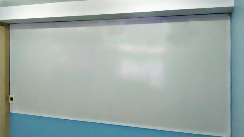 Quadro branco magnético em aço cerâmico
