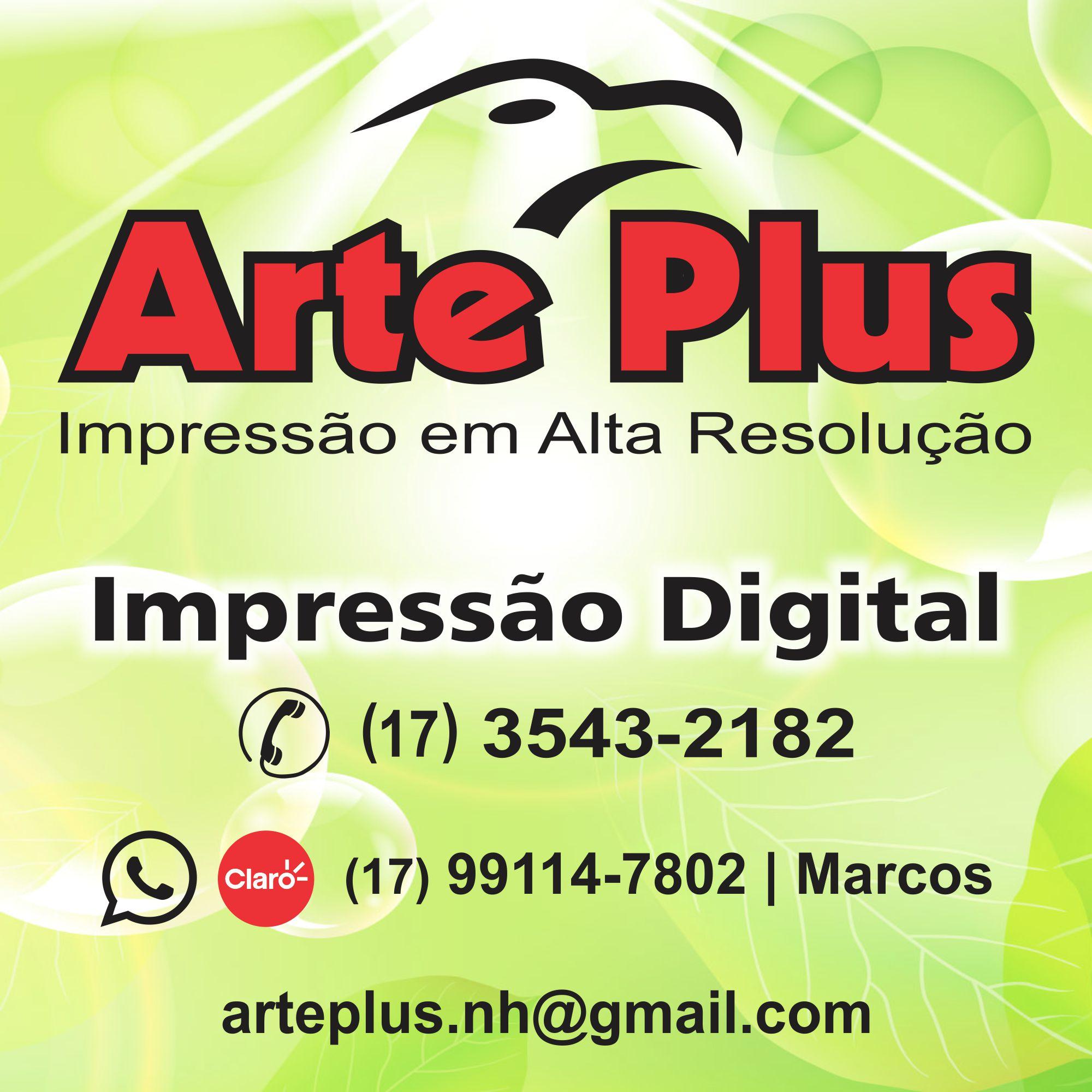 Arte Plus - Impressão em Alta Resolução
